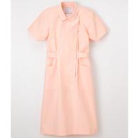 ナガイレーベン 看護衣半袖 LL ピーチ KEX-1157 (取寄品)