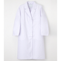ナガイレーベン 女子シングル診察衣 EP-130 ホワイト L 医療白衣(ドクターコート) 1枚(取寄品)