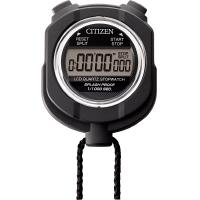 CITIZEN(シチズン) 1/1000秒 防雨 ストップウォッチ055 黒 8RDA55-002 1セット(10個入) 440-596