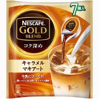 ネスレ日本 ネスカフェ ゴールドブレンドポーション キャラメルマキアート 11g 1袋(7個入)