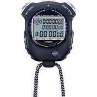 リズム時計 シチズン防滴型ストップウオッチ 黒 LC058-A02 1個