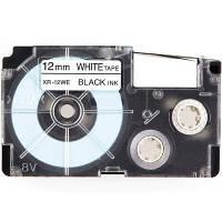カシオ ネームランド スタンダードテープ 白 XR-12WE ...