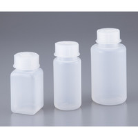 VITLAB 広口ボトル 250mL 角型 1本 1-1324-02 (直送品)