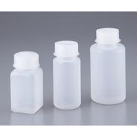 VITLAB 広口ボトル 500mL 角型 1本 1-1324-03 (直送品)