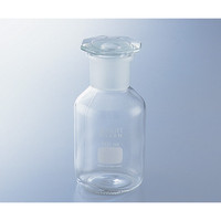 SCHOTT(ショット) 試薬瓶(広口・栓付き)(デュラン(R)) 茶 2000mL 1本 2-1972-06 (直送品)