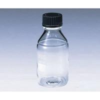 柴田科学 ねじ口瓶丸型白(デュラン(R)) 黒キャップ付 5000mL 1本 2-075-06 (直送品)