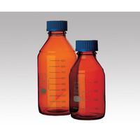 アズワン ねじ口瓶丸型茶褐色(デュラン(R)・017210) 25mL GL-25 1本 1-1961-01 (直送品)