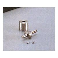 アズワン ハンドプレス 10mm アダプター 1個 1-312-02 (直送品)