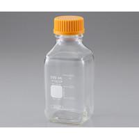 PYREX メディウム瓶角型(PYREX(R)) 250mL 1本 2-1956-02 (直送品)