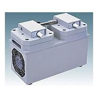 アルバック販売(ULVAC) 高真空ダイヤフラム型ドライ真空ポンプ 2.2A/2.3A 1台 1-4148-03 (直送品)