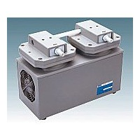 アルバック販売(ULVAC) 高真空ダイヤフラム型ドライ真空ポンプ 5.3A/6.0A 1台 1-4148-04 (直送品)