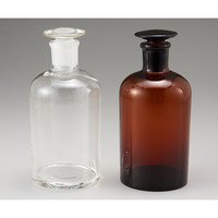 アズワン 細口共栓瓶 白 30mL 1本 1-4393-01 (直送品)