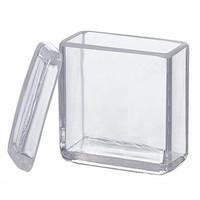 アズワン 染色バット(ガラス) 15枚用 1個 1-4398-01 (直送品)