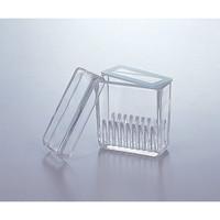 アズワン 染色バット(ガラス) 縦型10枚用 1個 1-4399-01 (直送品)