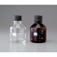 アズワン アイボトル短型(白) 250mL 1本 1-4567-02 (直送品)