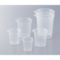 アズワン ニューディスポカップ 50mL 100入 1箱(100個) 1-4621-14 (直送品)