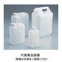 アズワン 角型瓶(フラット型)4L 1-4638-04 (直送品)
