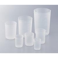 アズワン ディスポカップ(ブロー成形) 1000mL 1個 1-4659-06 (直送品)
