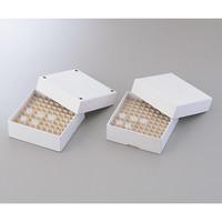 アズワン フリーズボックス φ10〜12mm ドレイン付き 1袋(10個) 1-4851-01 (直送品)