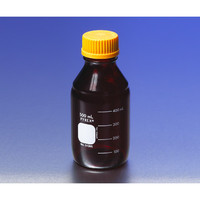 PYREX メディウム瓶(PYREX(R)オレンジキャップ付き) 遮光 1000mL 1本 1-4993-06 (直送品)
