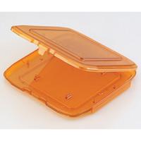 AS ONE(アズワン) マスクパッケージ オレンジ色 B8050-0611 1個 1-5390-01 (直送品)