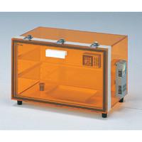 アズワン UVオートドライデシケーター 530×345×335mm 520nm以下カット可 1台 1-5488-24 (直送品)