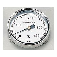 佐藤計量器製作所 バイメタル温度計 サーモペッター 400 1個 1-600-02 (直送品)