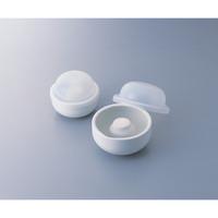 アズワン 中容量マグネット乳鉢セット 80g磁製 1セット 1-6022-01 (直送品)