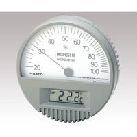 佐藤計量器製作所 精密温湿度計 7542 1台 1-623-01 (直送品)