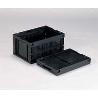 三甲(サンコウ/SANKO) オリタタミコンテナー(導電) 50B-M 1個 1-6406-02 (直送品)