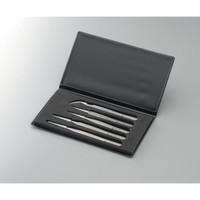アズワン 非磁性ステンレスピンセット SAセット 5本組 1式 1-6691-01 (直送品)