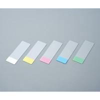 武藤化学 スターフロストスライドグラス水縁磨 5116 ホワイト 100枚入 1箱(100枚) 1-6724-01 (直送品)