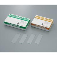 武藤化学 スライドグラス 1201(水切放) 1.3mm 100枚入 1箱(100枚) 1-6723-01 (直送品)