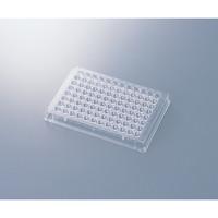 アズワン 96ウェルマイクロプレート 平底・滅菌済 1箱(50枚) 1-6776-06 (直送品)