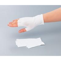 マックス(MAX) インナー手袋 MX311EX-CP 指先カット クリーンパック 10双 1袋(10双) 1-7952-01 (直送品)