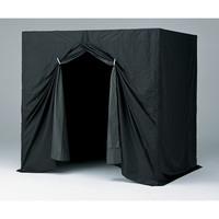 アズワン 組立式暗室 小 1300×1400×2000mm 1台 1-8119-01 (直送品)