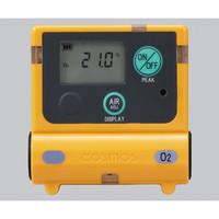 新コスモス電機 装着型ガス濃度計 0〜25vol%(25〜50vol%) 1台 1-8793-11 (直送品)