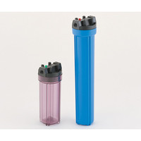 アズワン 樹脂製フィルターハウジング 20in 青 3/4 1個 1-9022-10 (直送品)