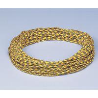 アズワン 除電ロープ #4077-SP4 1巻 1-9107-01 (直送品)
