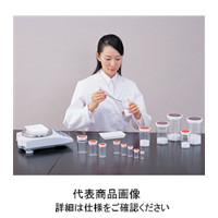アズワン スチロール棒瓶 茶 120mL 1-9730-07 (直送品)