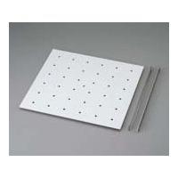 アズワン デシケーター予備棚板 強化プラスチック棚 490×460mm 1枚 1-987-11 (直送品)