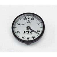 イチネンTASCO バイメタル表面温度計 TMS50-120 低温・高温各表示針無し 1個 1-9897-01 (直送品)