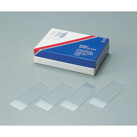 松浪硝子工業 フロストスライドグラス S2215 水縁磨 100枚入 1箱(100枚) 2-152-05 (直送品)
