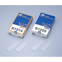 松浪硝子工業 水スライドグラス 切放 S1225 100枚入 1箱(100枚) 2-155-04 (直送品)