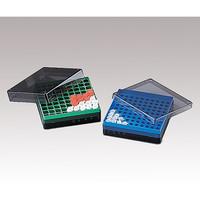 アズワン アイビスフリーズボックス 1.5・2.0mLチューブ用、0.5・1.5・2.0mLクライオチューブ用 1箱(10個) 2-3014-02 (直送品)