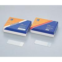 松浪硝子工業 シランコートスライドグラス S8226 水切放フロスト 100枚入 1箱(100枚) 2-4000-09 (直送品)