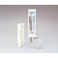 佐藤計量器製作所 冷蔵庫用温度計(チェッカーメイトII) 1針タイプ 0571 1716-00 1個 2-4708-01 (直送品)