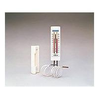 佐藤計量器製作所 冷蔵庫用温度計(チェッカーメイトII) 2針タイプ 0572 1717-00 1個 2-4708-02 (直送品)