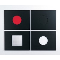 アズワン コロニーカウンターライト台DX 交換用照明板・黒 1個 2-7592-13 (直送品)