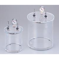 アズワン アクリル小型真空容器 φ315×449mm 1個 2-7875-02 (直送品)